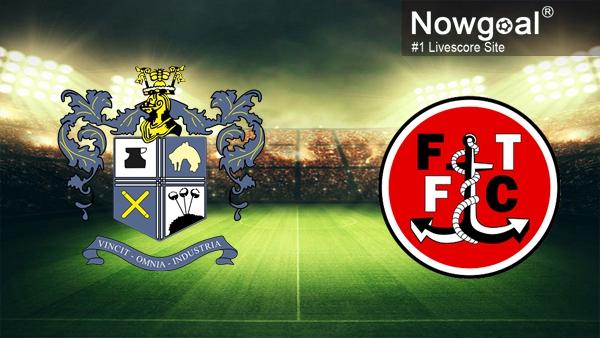 Nhận định Bury vs Fleetwood