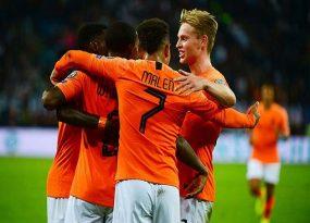 Hà Lan nổi lốc, ông lớn Đức thị uy vòng loại Euro