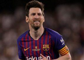 Messi có thể lại lỗi hẹn trận Dortmund cùng Barca