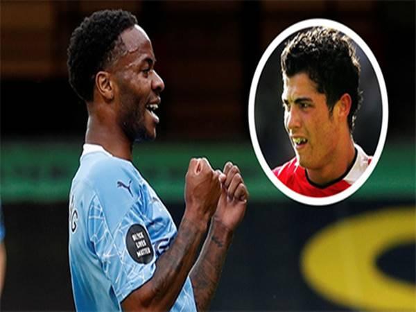 Sterling vượt qua Ronaldo nhờ cú đúp