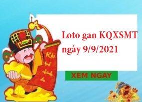 Loto gan KQXSMT ngày 9/9/2021